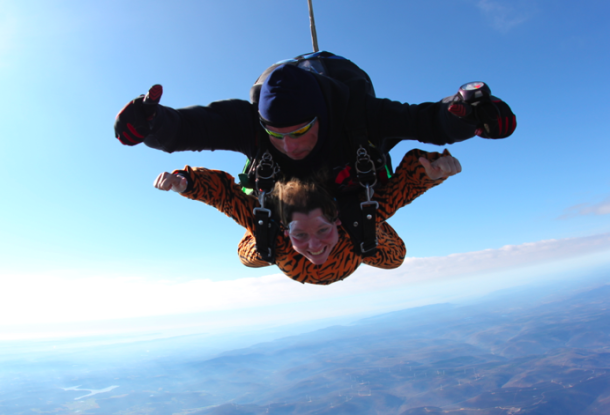 Skydiving Over Scranton Pa Skydiving Thrill Seeking Thrill