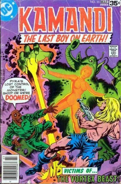 Kamandi, The Last Boy on Earth # 55 - The Vortex Beast - February 1, 1978