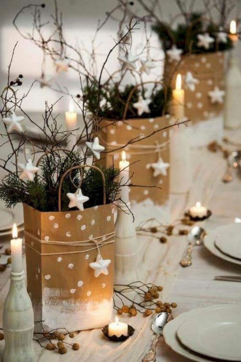 31 Inspiring Charming Winter Centerpieces Decoration Ideas
