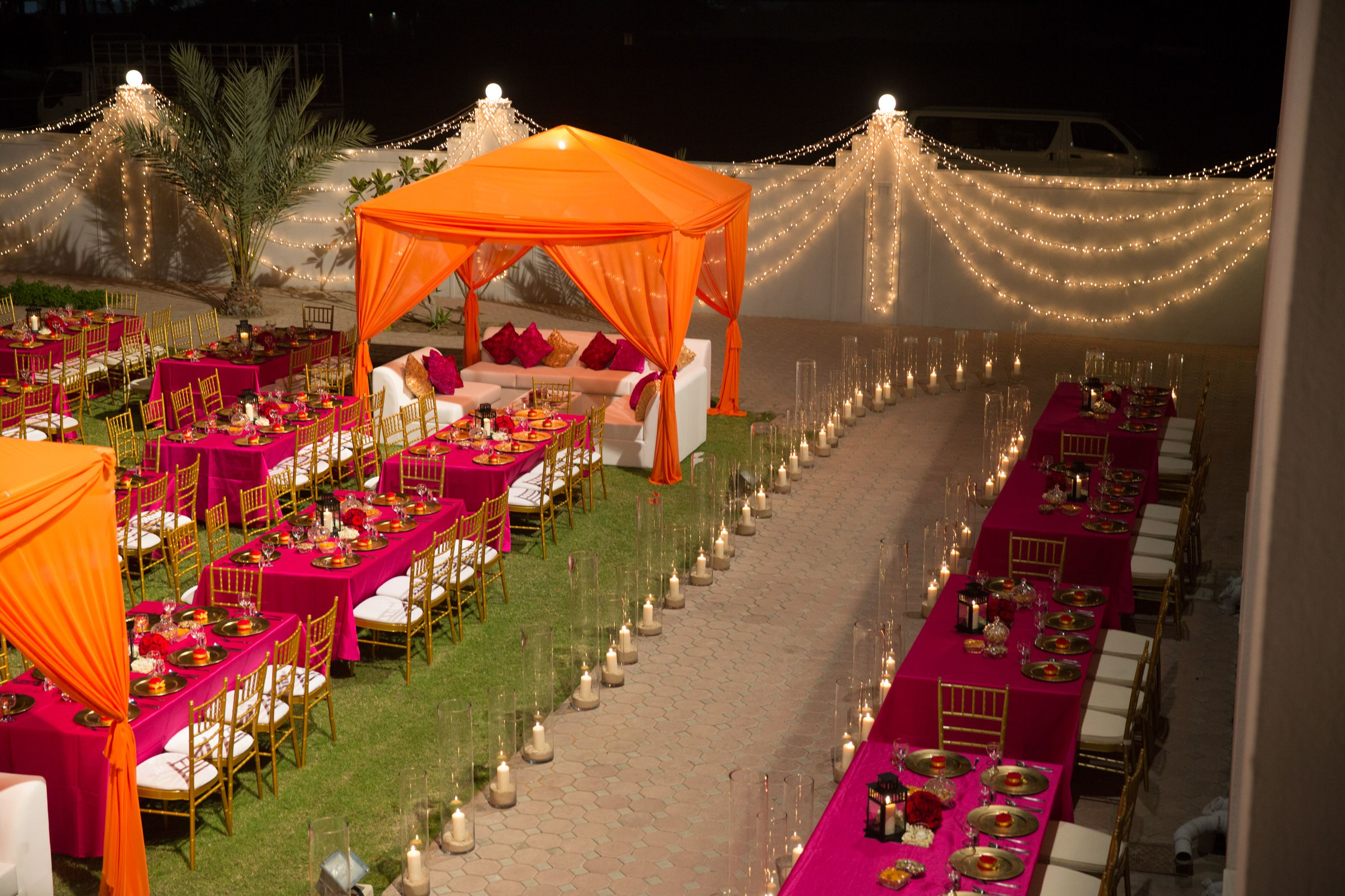 wedding stage decoration pics%0A Arabian wedding setup  lounge tents and dining tables    Indian Wedding  DecorationsIndian WeddingsStage