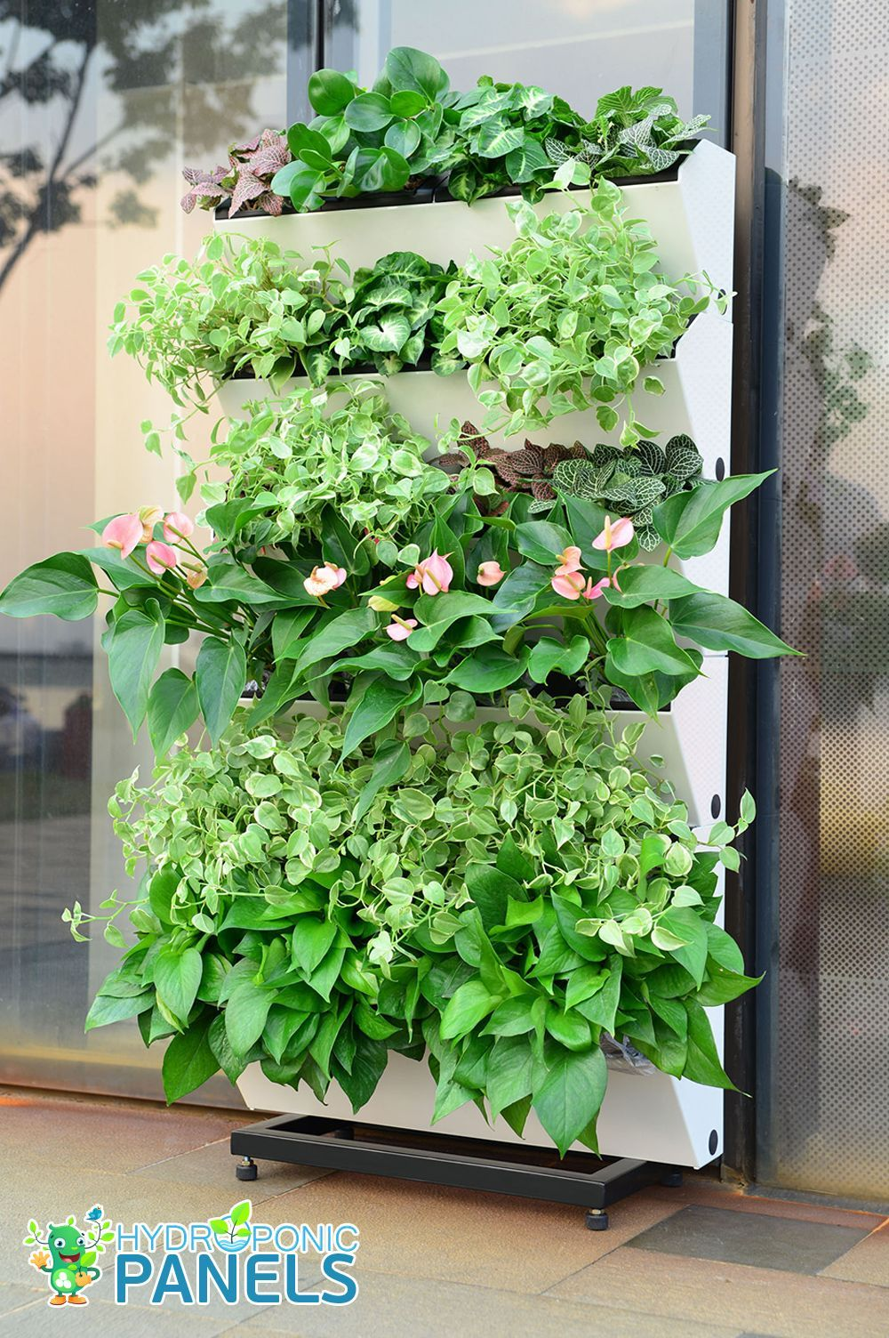 Hydroponic Panels hydroponicgardening Vertical herb