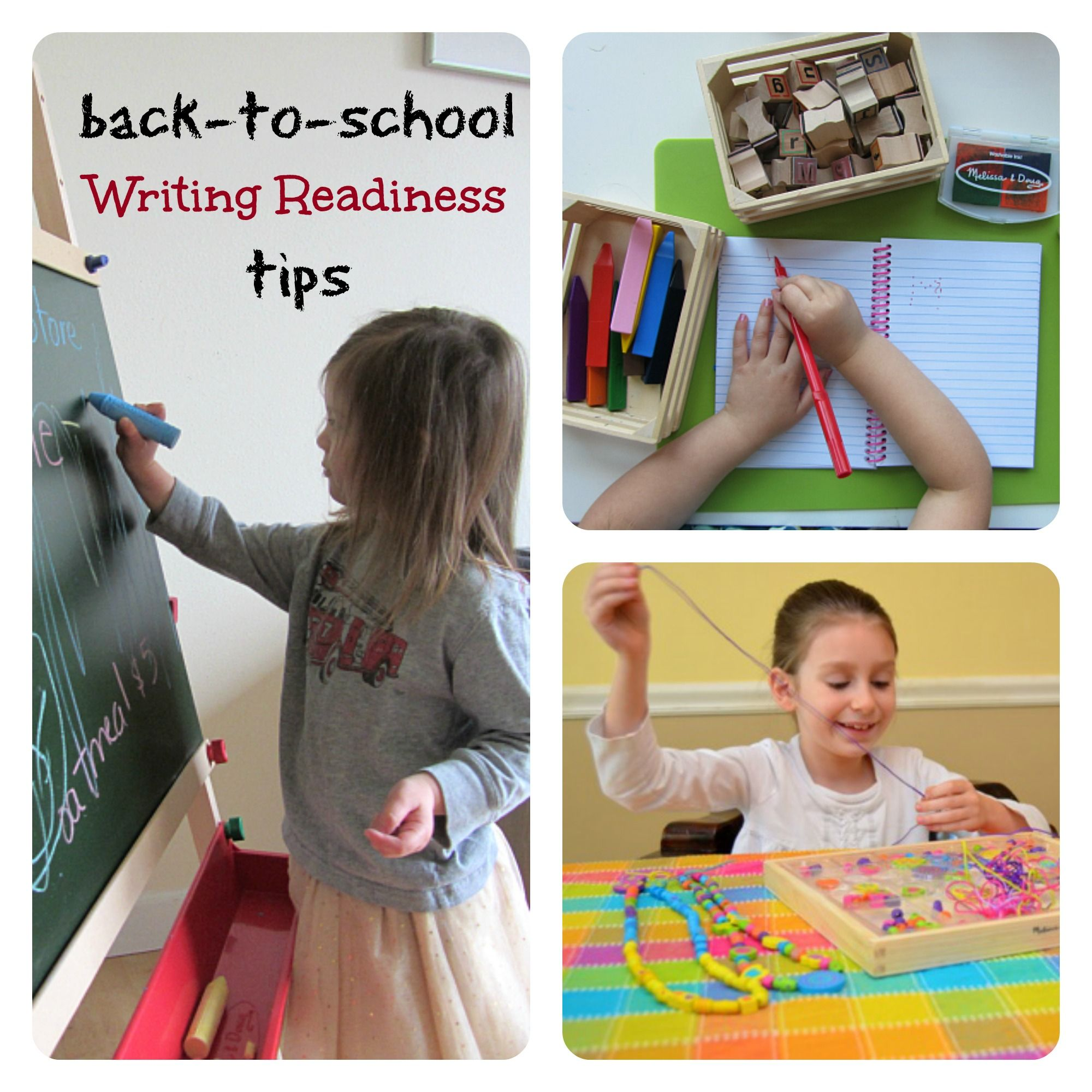 Back To School Writing Readiness Tips