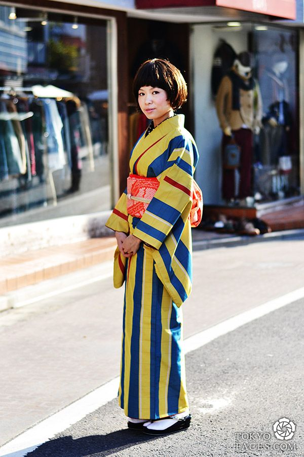 Gallery Kimono Street Fashion