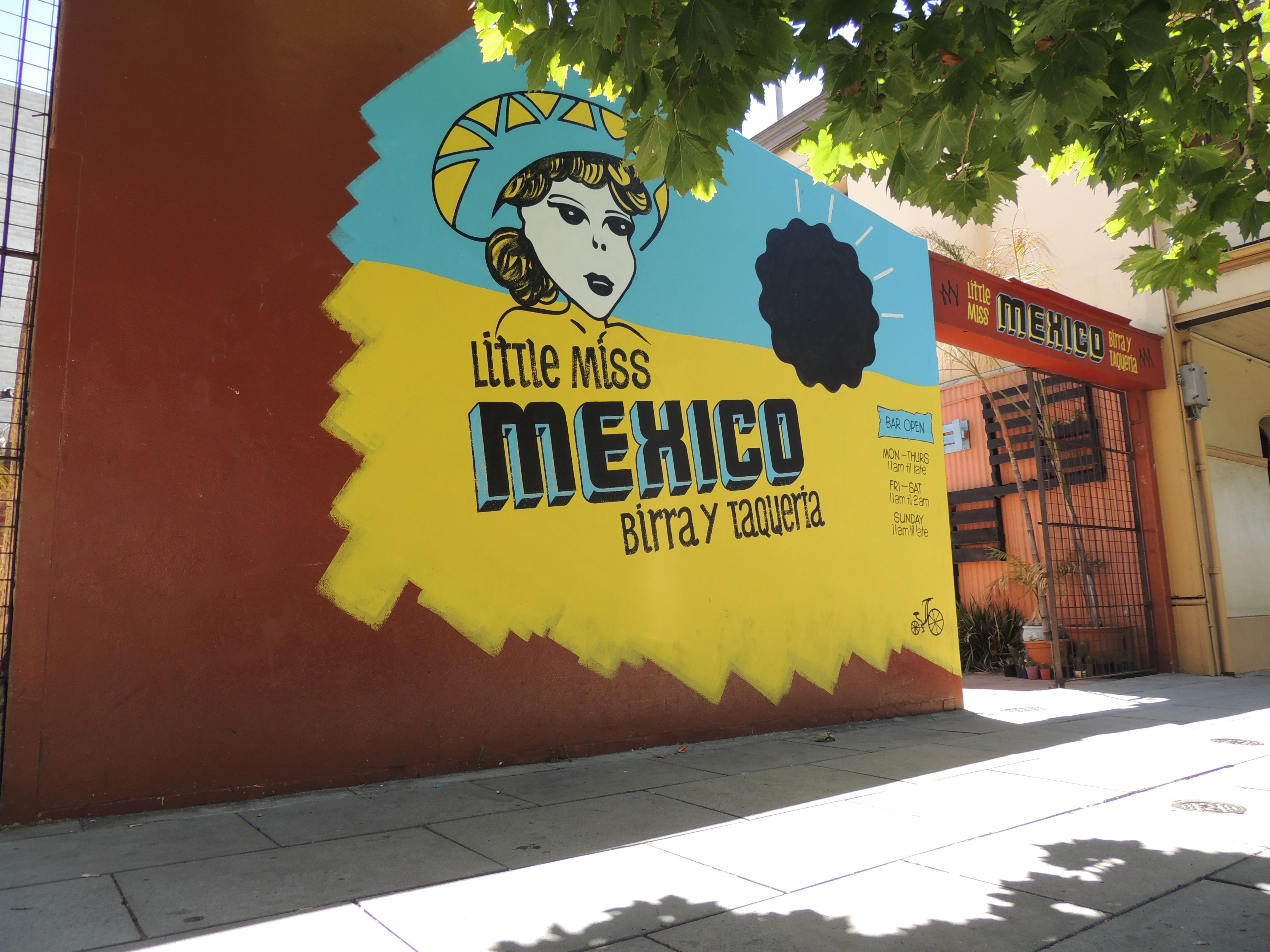 The Little Miss Mexico Pop-up Bar - A rustic styled outdoor bar and ...