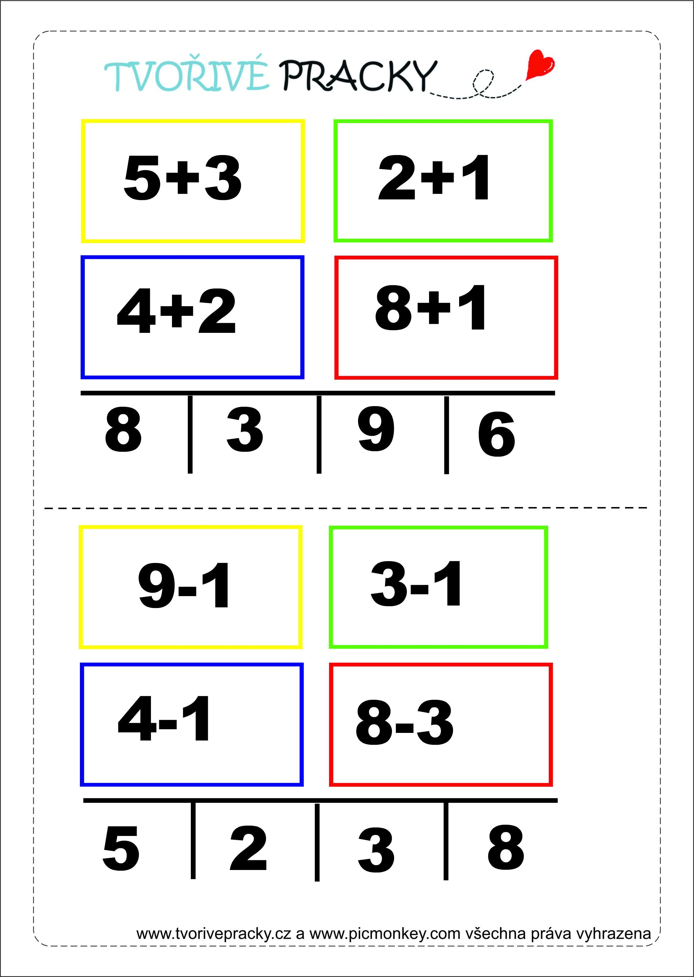 Snap free math addition worksheets mental addition to 12 3 ...