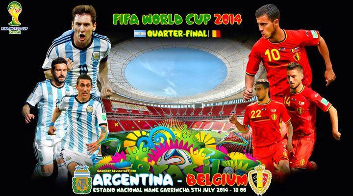 Argentina Belgium 1 0 Estadio Nacional Afa Argentina Mundial De Futbol