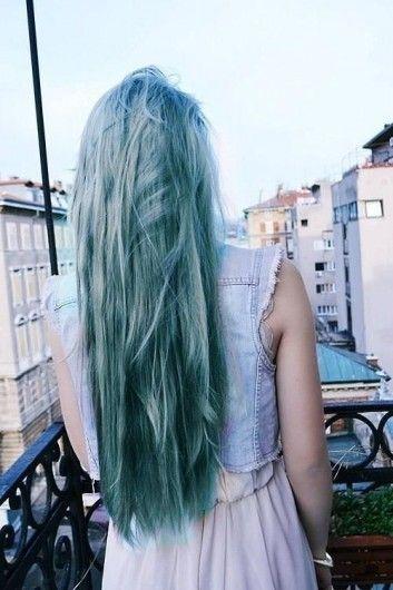 tendencia opal turquesa en el cabello - Buscar con Google
