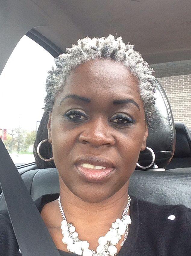 gray hair beautiful