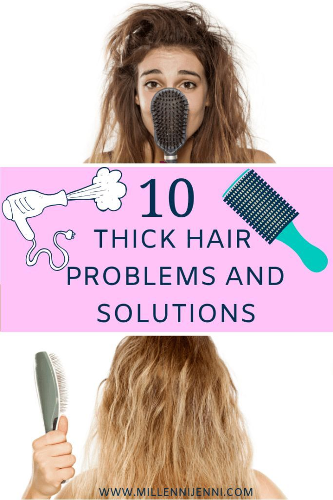 Thick hair problems and solutions: Here are 10 tips - MillenniJenni