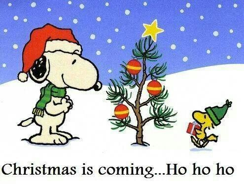 christmas is coming ho ho ho - Snoopy Christmas Song