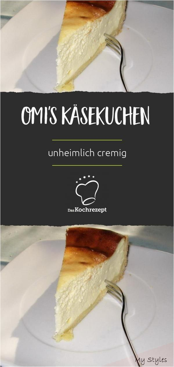 Omi-s Käsekuchen #fitness