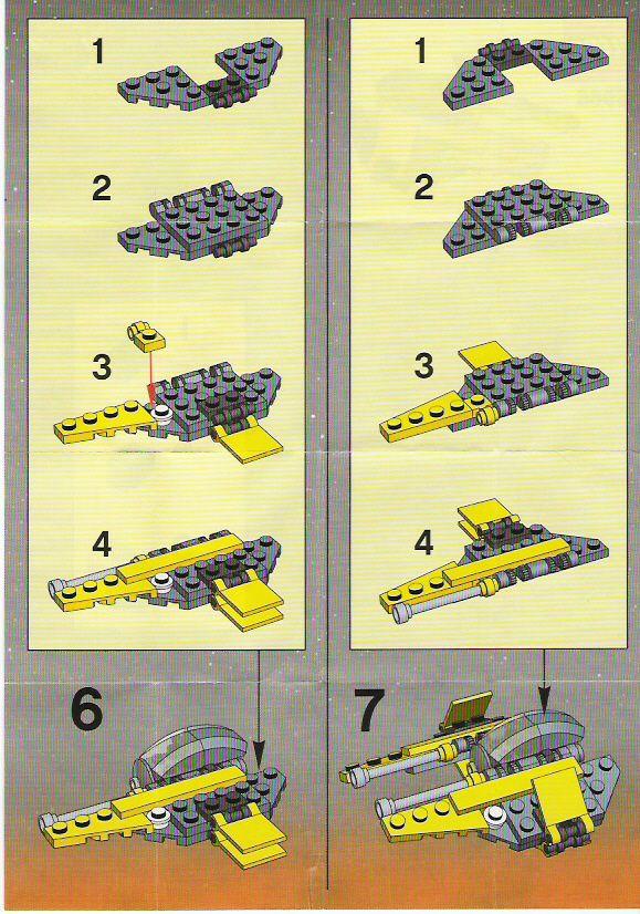 Star Wars Mini Jedi Starfighter Lego 6966 Lego Universe
