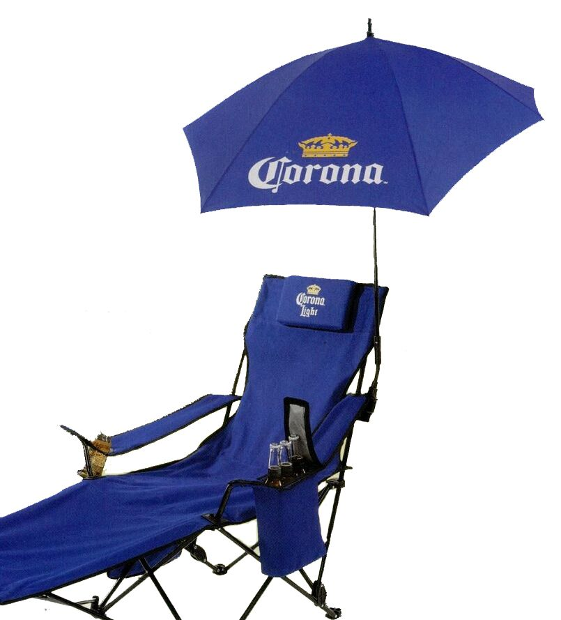July 2013 Special! Reclining folding chair with footrest