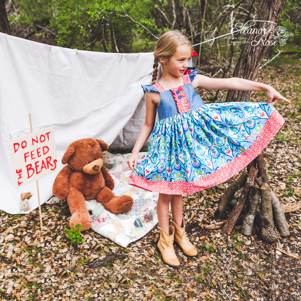 Summer camp dress comes out May 6! Available in 6 months ...