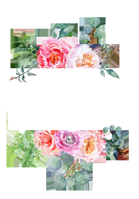 H982 (8) Art wallpaper, Watercolor flowers, Floral