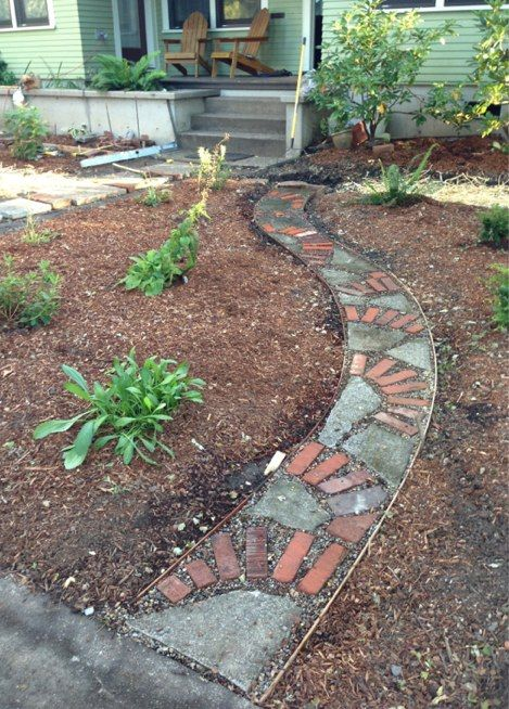 how to fix broken concrete stepping stones