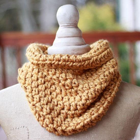 One Hour Cowl PDF Crochet Pattern - Digital Download | Free pattern ...