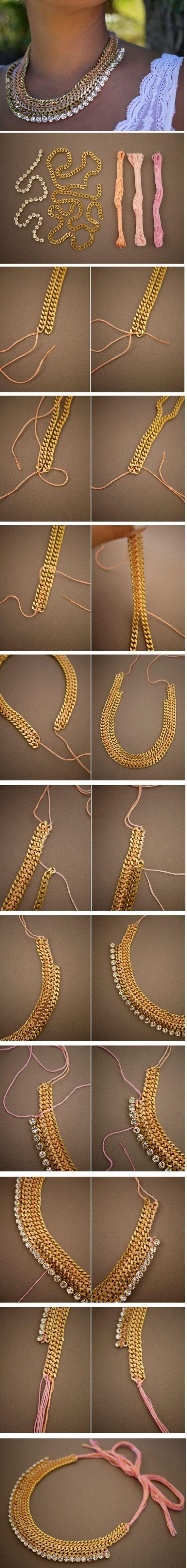 Do It Yourself Jewelry: Diy Necklace, Diy Jewelry
