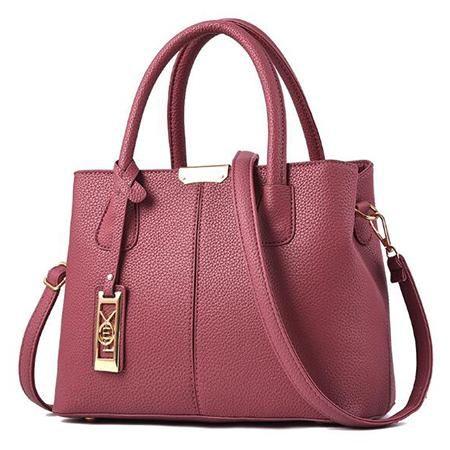 New Arrival PU Leather Handbags Casual Women Shoulder Bag Designers Ladies  Hand Bags Simple Style Crossbody Messenger Bags 4ed6c10980