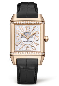 Best luxury watches for women no. 6. Jaeger-LeCoultre Reverso Squadra Lady Duetto Pink Gold. Jaeger-LeCoultre has a long and storied history of innovation in Swiss timekeeping, and its Reverso was introduced some 85 years ago as a luxury reversible sports watch; the reason for the reversible case was so wearers could protect the face during polo matches.