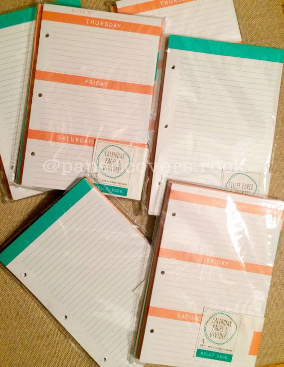 picture about Planner Binders called Contemporary!! Concentrate Just one Place Greenback Destination Mini -Binder Planner Webpages