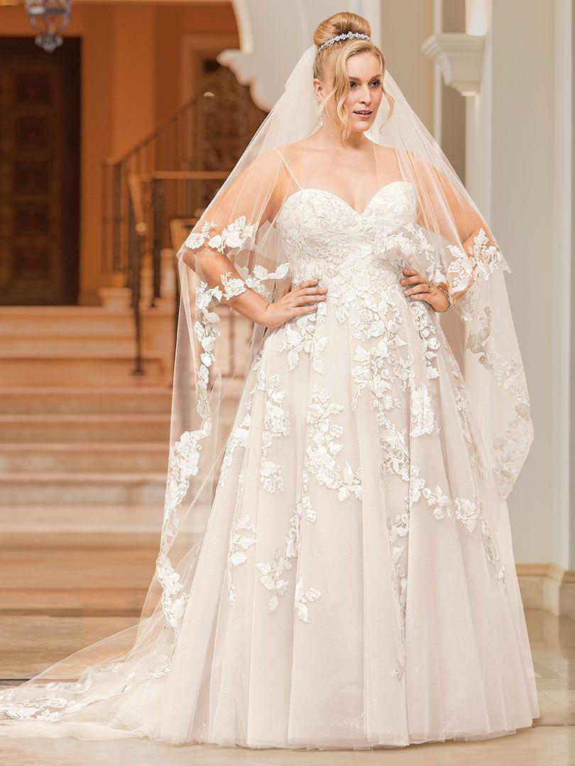 Pin On Plus Size Wedding Dresses [ 1080 x 810 Pixel ]