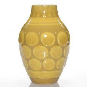 """Curious Rookwood Deco Vase, Rehm, 1929, 7 1/2"""""""