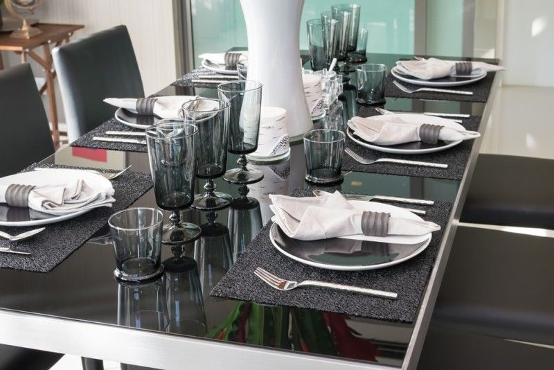 27 Modern Dining Table Setting Ideas Modern Dining Table Dining Table Setting Grey Dining Tables