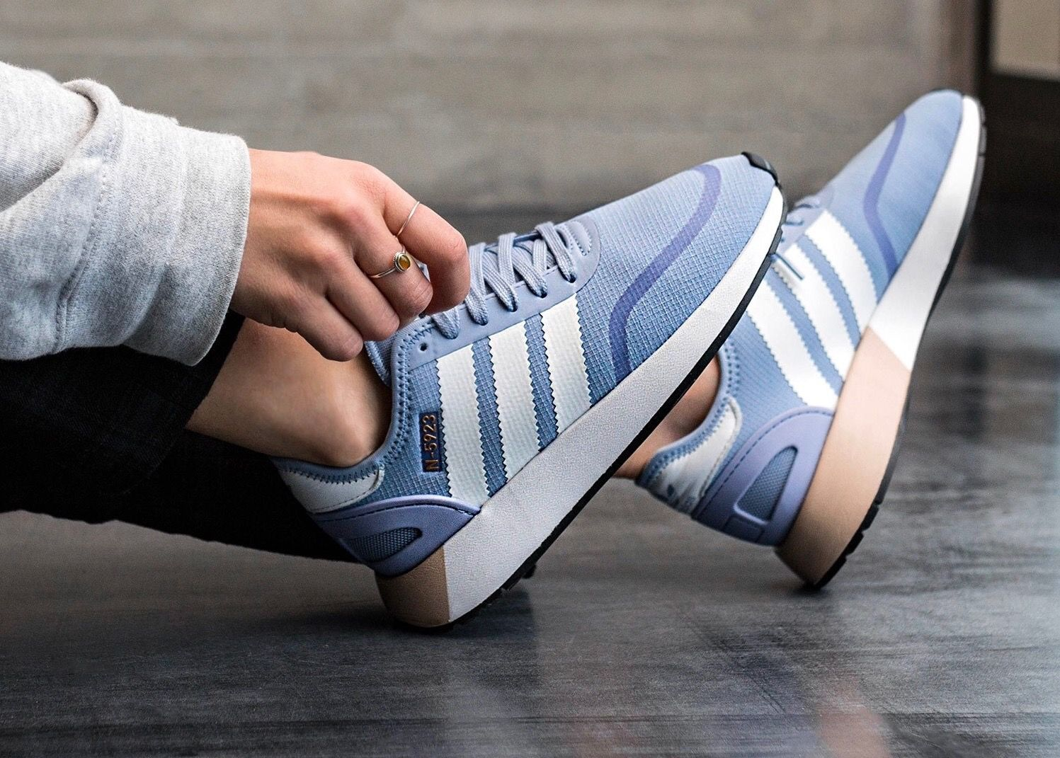 brand new d848e 70a18 adidas Originals N-5923 Baby Blue