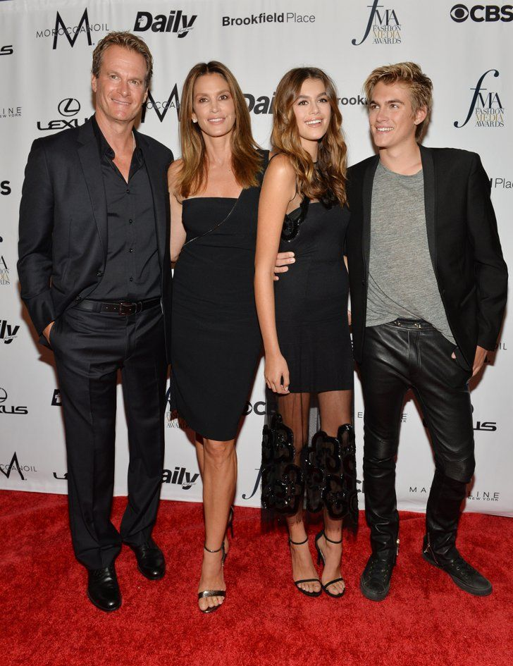 Cindy Crawford and Her Family Made a Seriously Fierce