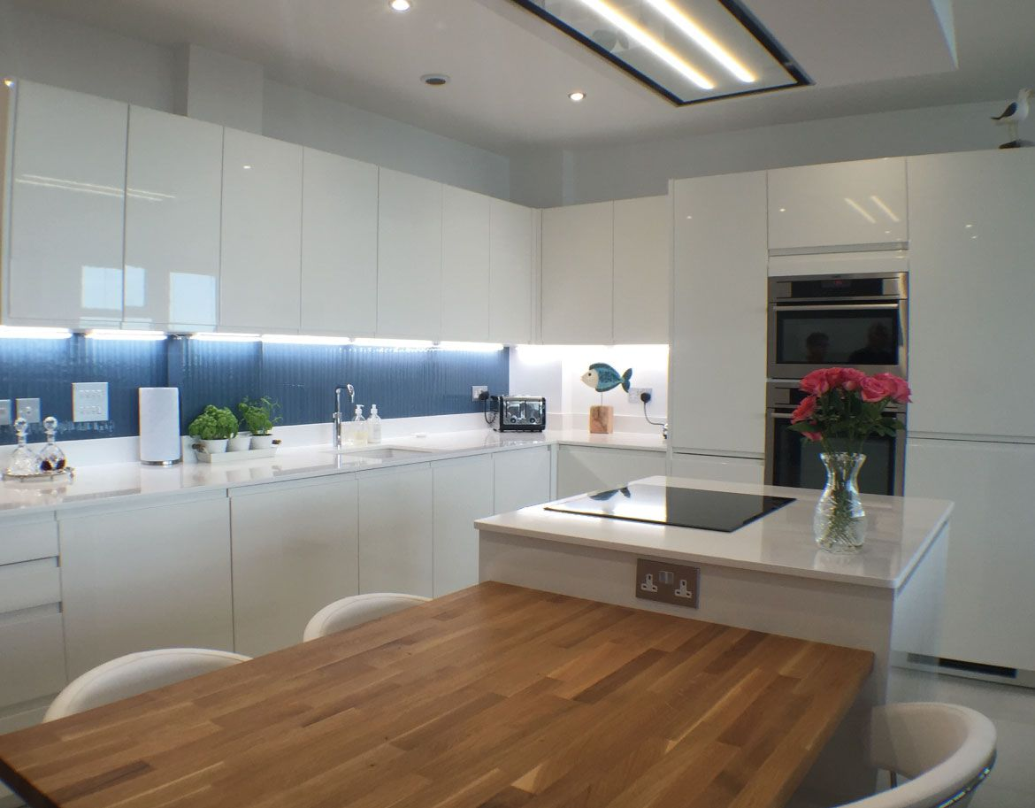 Coastal Themed Kitchen Simply Kitchens, Plymouth. Kitchen Design And  Fitting.