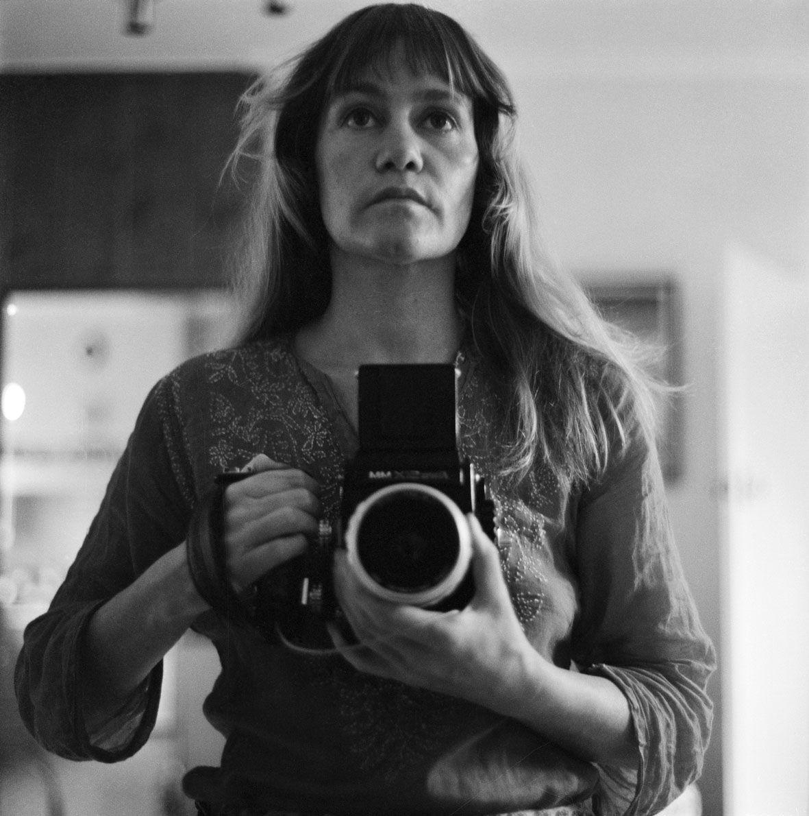 Sue Ford. Self-portrait 1968
