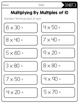 3rd Grade Multiplication Worksheets Best Coloring Pages For Kids Multiplication Worksheets Math Practice Worksheets Free Printable Math Worksheets