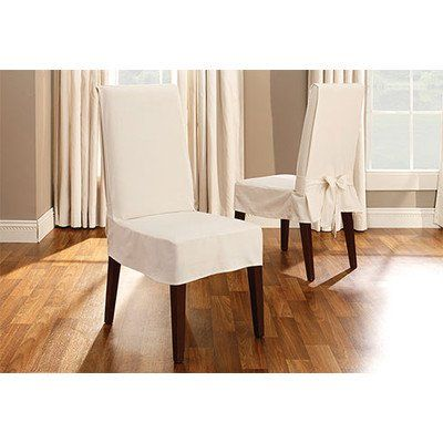 Dining Chair Covers, Surefit Round Back Dining Room Chair Slipcover