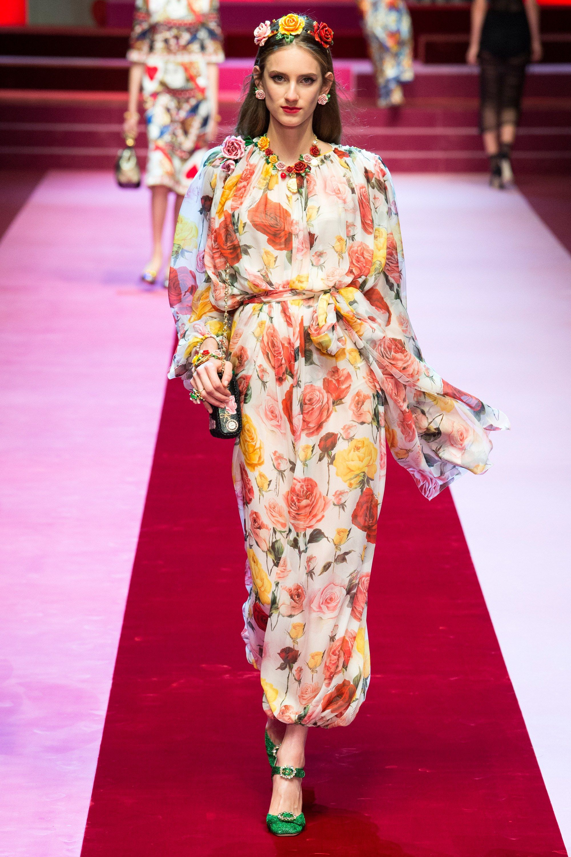 Dolce & Gabbana Spring 2018 Ready-to-Wear Fashion Show in ...