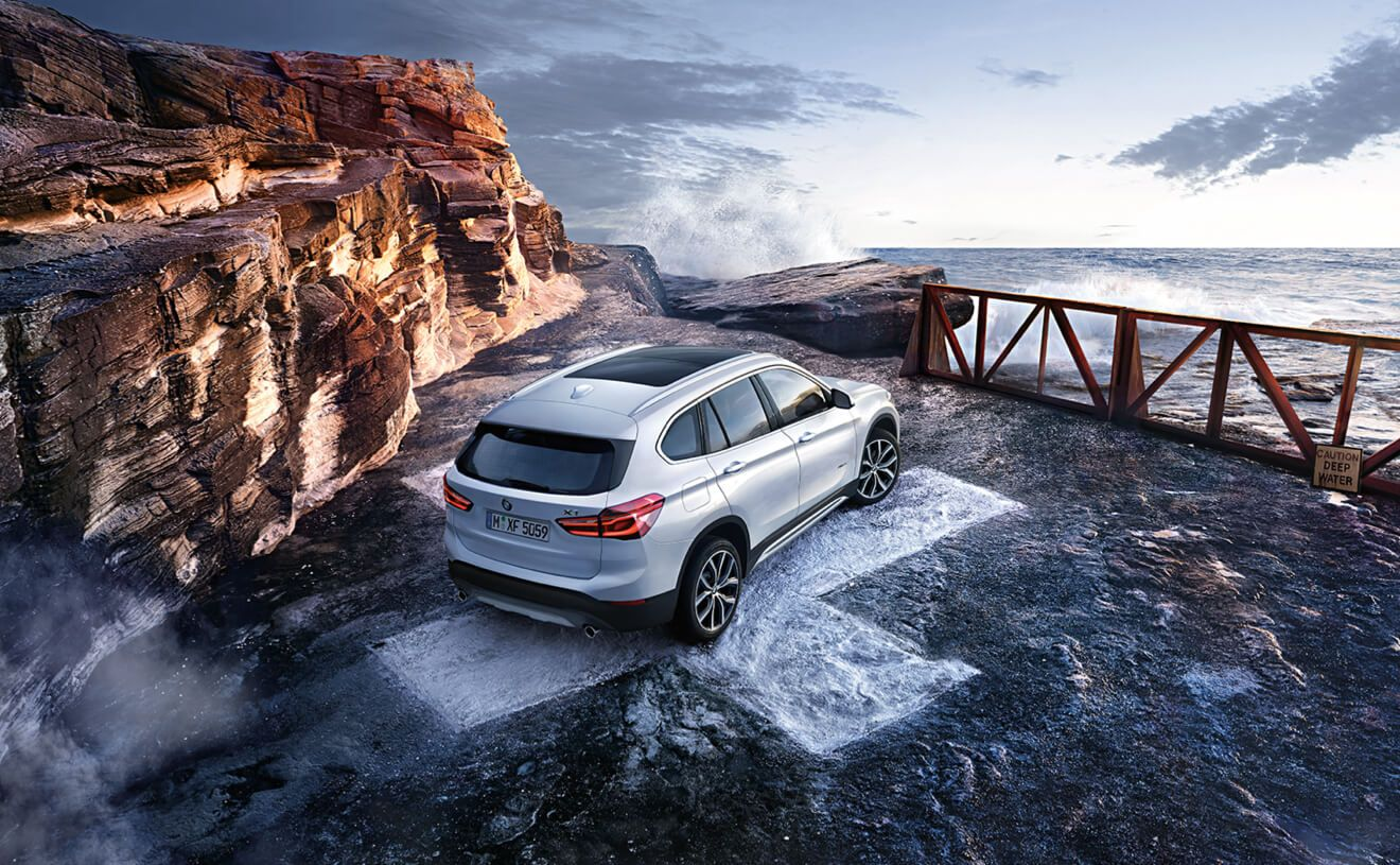 The BMW X1 XDrive28i In Mineral White Metallic