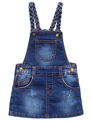 1-6YRS Garden TIME ECO Suspender Skirt