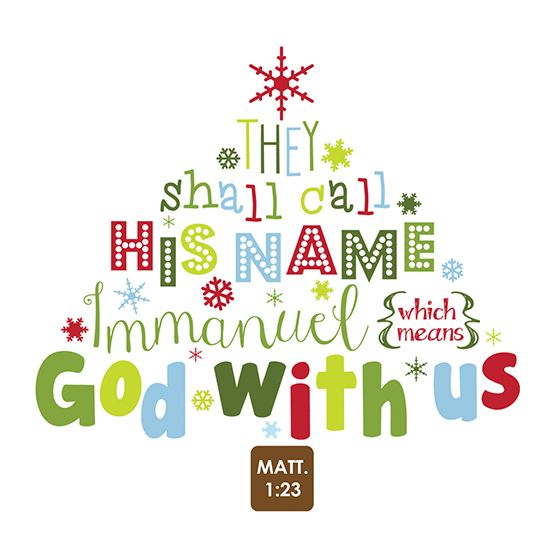 Christmas Scripture, Happy