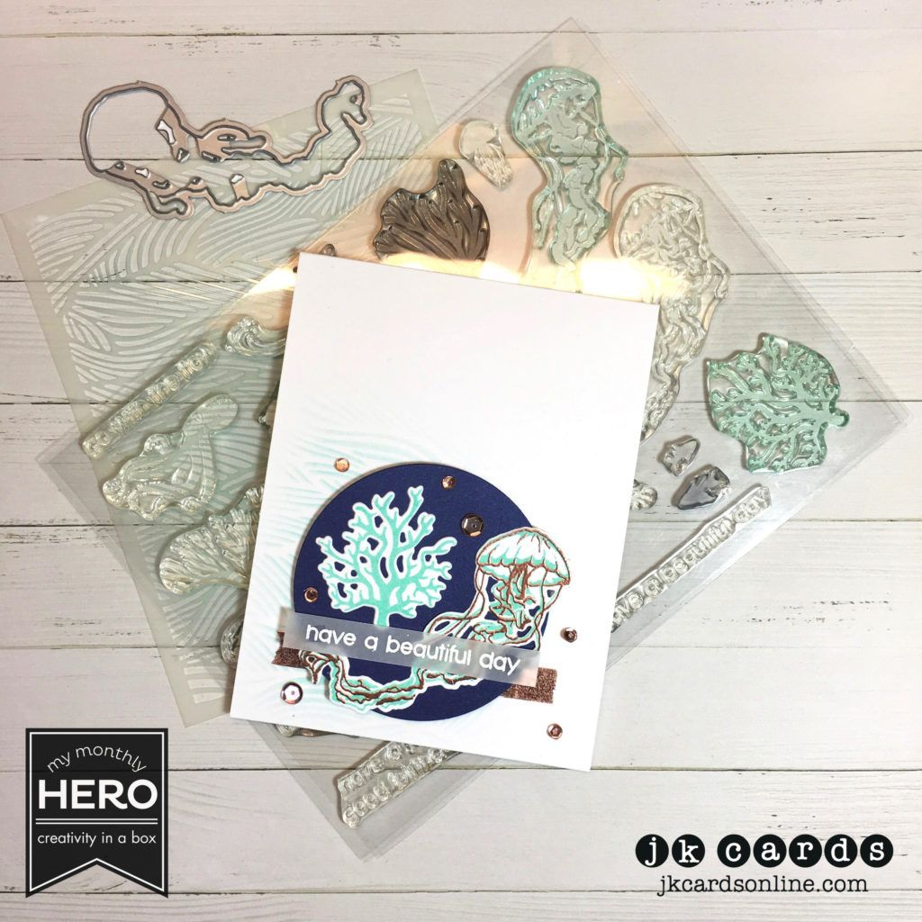 Paper craft crew 249 hero arts july 2016 my monthly hero kit paper craft crew 249 hero arts july 2016 my monthly hero kit hero arts copper and white embossing powder the paper cut 48lb vellum and blueprint curious malvernweather Image collections