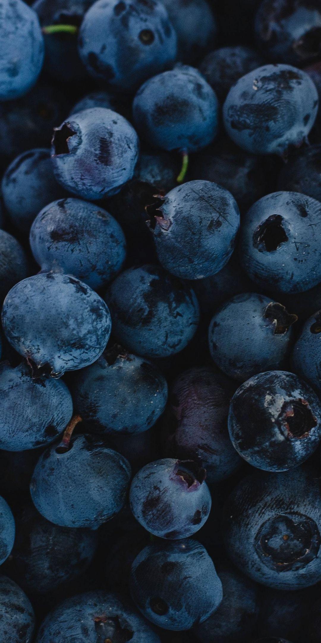 1080x2160 Fresh Blueberries Dark Blue Fruit Wallpaper Fruit Wallpaper Iphone Background Wallpaper Blue Wallpapers