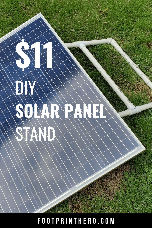 11 Diy Adjustable Solar Panel Mount Solar Panels Solar Solar Panel Mounts