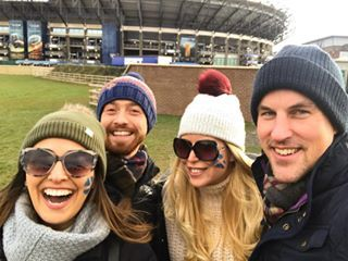 Bad outcome but fab day with this crew! 🏴󠁧󠁢󠁳󠁣󠁴󠁿 #scottishrugby #murrayfield . . . . . #rugby #sixnations #6nations #scotland #lovescotland #edinburgh #edinburghstory #edinburgh_snapshots #edinburghlife #livingabroad #expat #expatlife #expatwoman #travel #travelgram #travelgirl #greatbritain #uktravel #mytelegraph #bbctravel