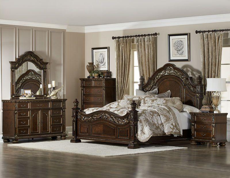 Catalonia Bedroom Set Elegant Master Bedroom King Bedroom Sets Ornate Bedroom