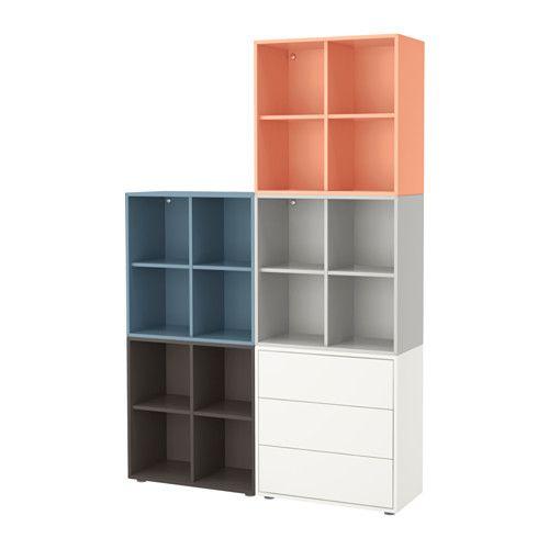 Ikea Füße eket schrankkombination füße bunt 2