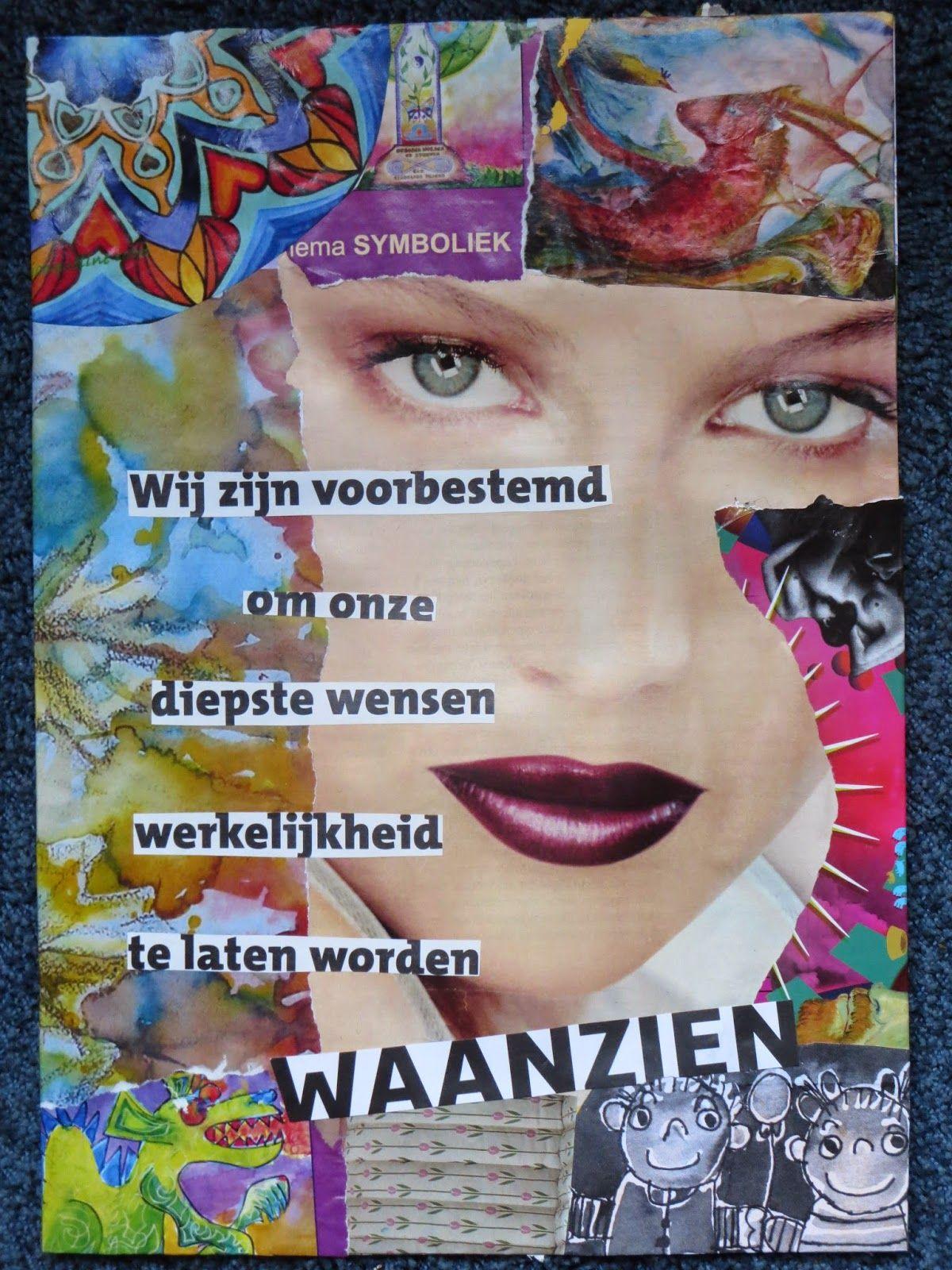 aqua vitae... laat het levenswater stromen: 18okt14 Beeld van vandaag: Collages...  ... met ee...