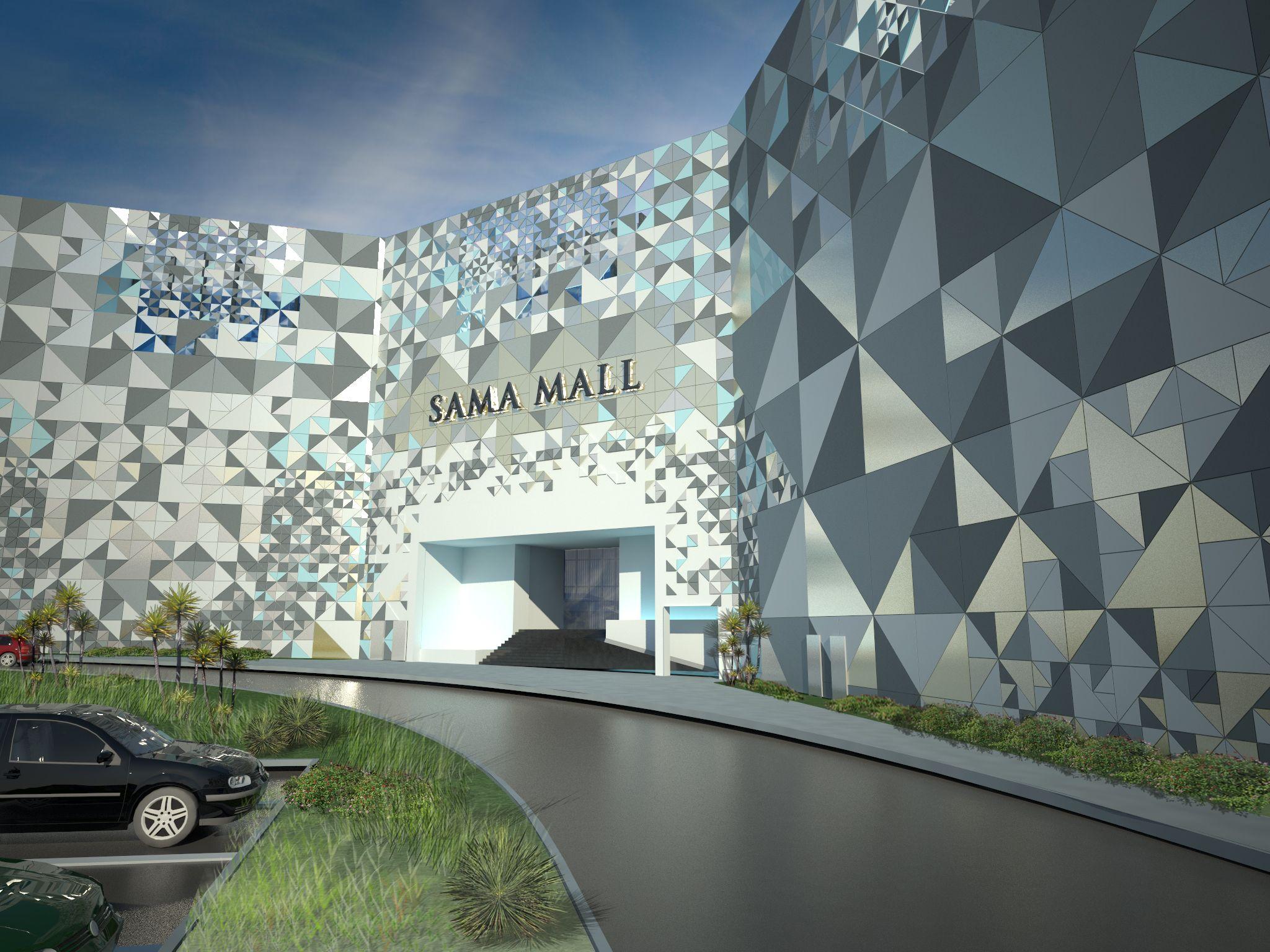 SHopping mall FACADE - Google 검색