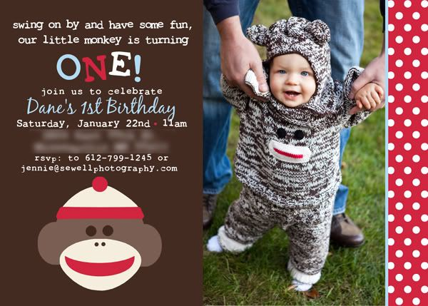 Awesome sock monkey birthday invitations ideas free printable awesome sock monkey birthday invitations ideas filmwisefo Image collections