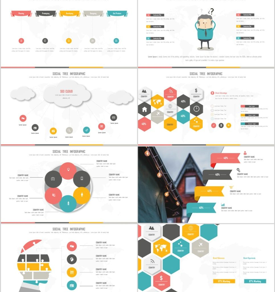 25+ Timeline Infographics PowerPoint Template