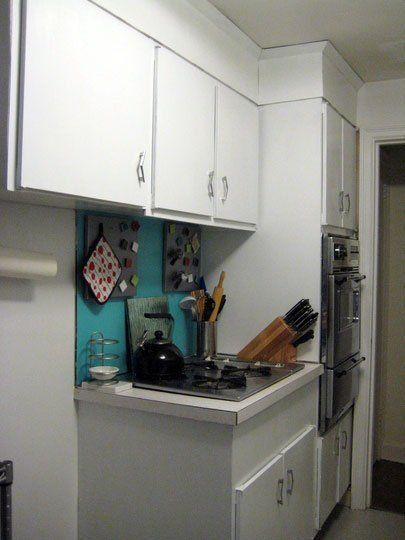 How To Paint Plastic Laminate Kitchen Cabinets Kathleenu0027s February  Jumpstart Project 2009