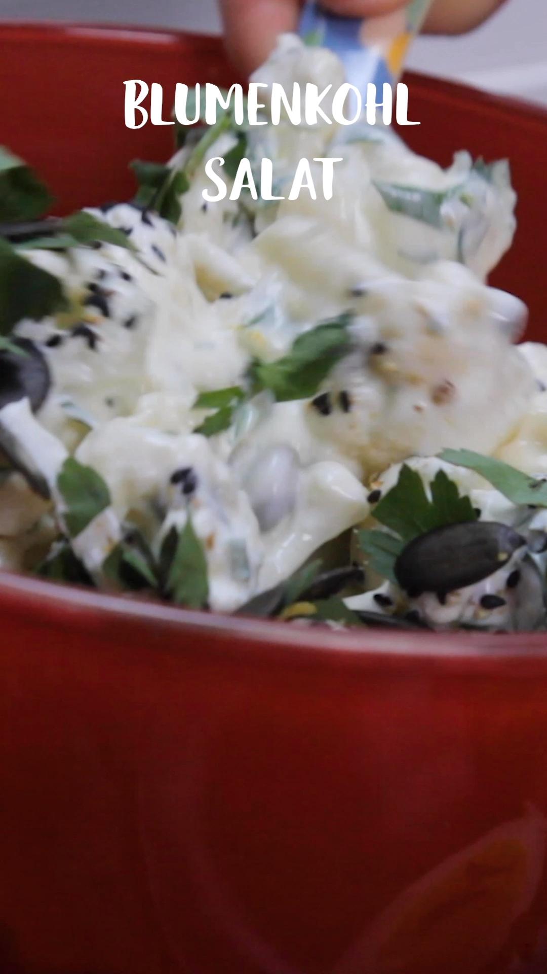 Photo of So delicious: cauliflower salad